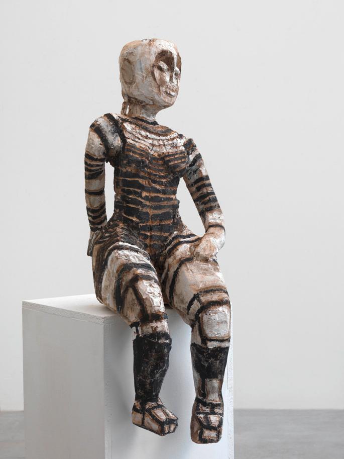 Sitzende Figur, 1999/2010