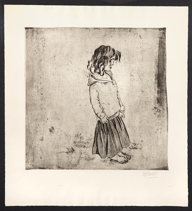 Zigeunerkind Blume, 1933