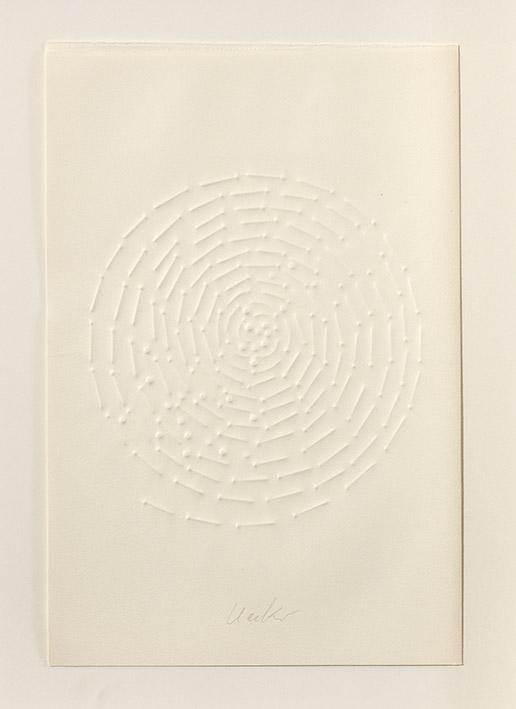 einsam gemeinsam – Buch mit fünf Prägedrucken - Nr. 3, 1971