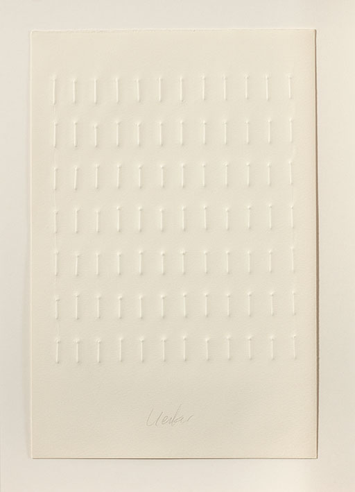 einsam gemeinsam – Buch mit fünf Prägedrucken - Nr. 4, 1971