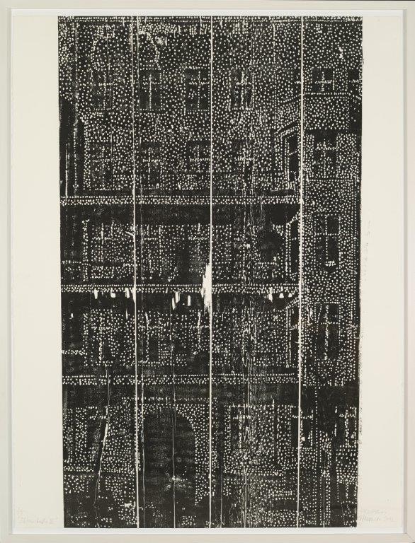 Bülowstraße III, 2012, Holzschnitt, Auflage 5, Exemplar 3 von 5